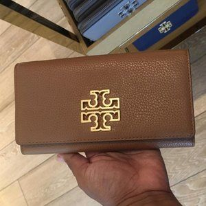 Tory Burch Britten Smart phone wallet wristlet